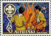 Aitutaki 1983 75th Anniversary of Scouting (Semi-Postal Stamps) a