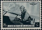 Belgium 1938 European Airmail Conference c