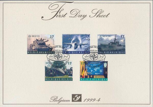 Belgium 1999 50th Anniversary of NATO FDSa