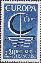 France 1966 EUROPA a