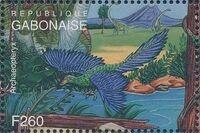Gabon 1995 Prehistoric Wildlife zc