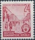 Germany DDR 1953 Workers For The Five-year Plan j