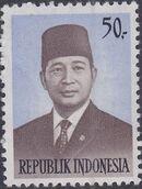 Indonesia 1974 President Suharto - Definitives b
