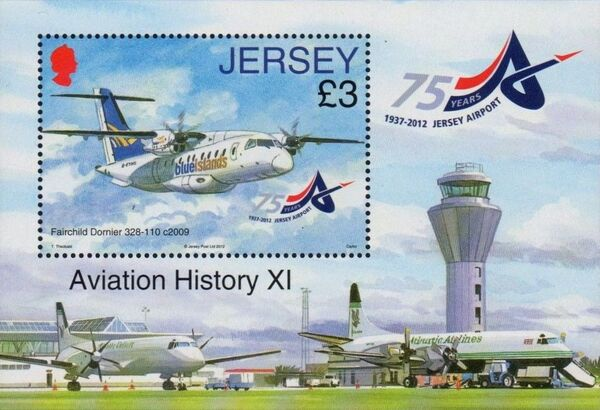 Jersey 2012 Aviation History XI - 75th Anniversary of Jersey Airport g
