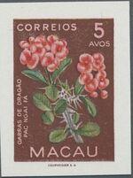 Macao 1953 Indigenous Flowers ca