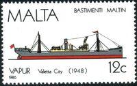 Malta 1986 Maltese Ships (4th Series) c
