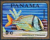 Panama 1968 Tropical Fish (Air Post Stamps) a