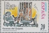 "Spain 1998 Scenes from ""Don Quixote"" m"