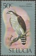 St Lucia 1976 Birds l