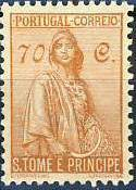 St Thomas and Prince 1934 Ceres - New Values k