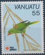 Vanuatu 1991 Phila Nippon'91 - Birds b
