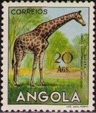Angola 1953 Animals from Angola t