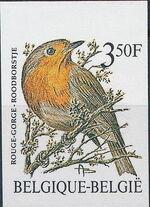Belgium 1986 Birds (A) b