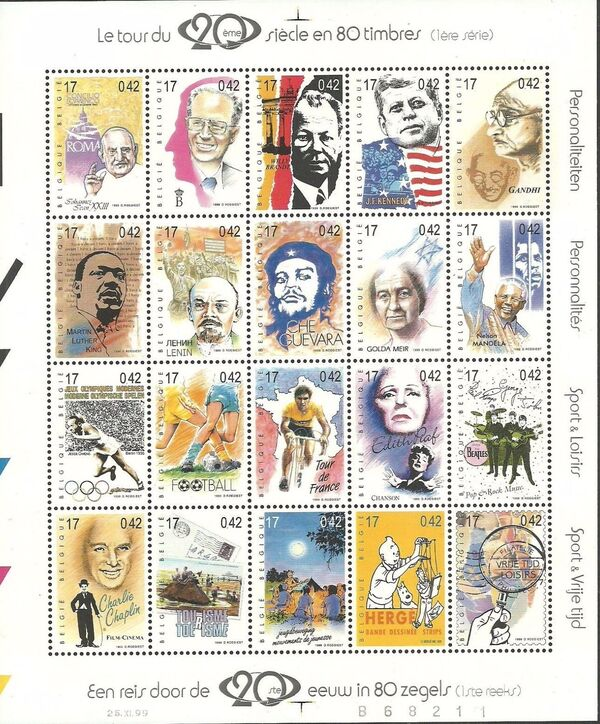 Belgium 1999 Journey Through the 20th Century (1st Group) Sa