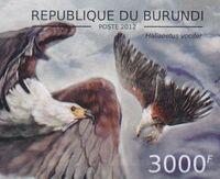 Burundi 2012 Birds of prey l