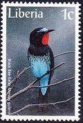 Liberia 1997 Birds a