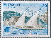 Monaco 1979 EUROPA - Communications b