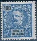 Ponta Delgada 1897 D. Carlos I j