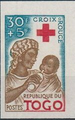 Togo 1959 100th Anniversary of International Red Cross h
