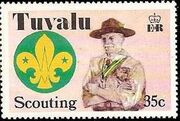 Tuvalu 1977 Scouting in Tuvalu 50th Anniversary d