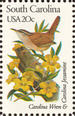 United States of America 1982 State birds and flowers zl