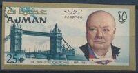 Ajman 1966 Winston Churchill i