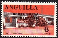 Anguilla 1969 Independence f