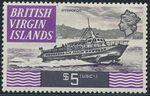 British Virgin Islands 1970 Ships r