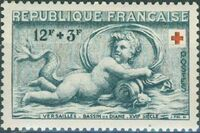 France 1952 Surtax for the Red Cross a
