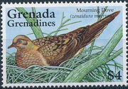 Grenada Grenadines 1995 Doves d