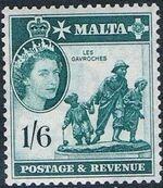 Malta 1956 Elizabeth II l