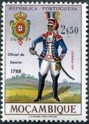 Mozambique 1967 Military Uniforms h