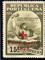 Portugal 1928 Red Cross - 400th Birth Anniversary of Camões a