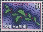 San Marino 1978 Christmas a