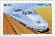 Sierra Leone 1995 Railways of the World 3g