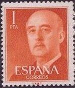 Spain 1955 General Franco k