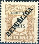 St Thomas and Prince 1913 Postage Due Stamps - 2nd Overprint c