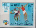 Ajman 1968 Olympic Games - Mexico n