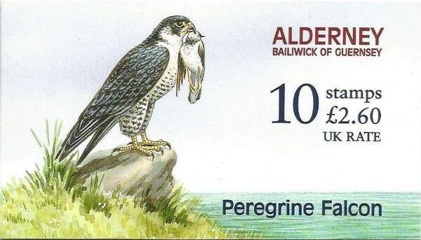 Alderney 2000 WWF Peregrine Falcon Bb