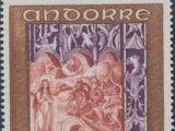 Andorra-French 1969 Frescoes