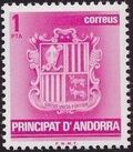Andorra-Spanish 1982 Coat of Arms a
