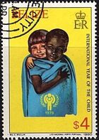 Belize 1980 International Year of the Child h