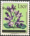 Burundi 1962 Flower Issue of Ruanda-Urundi Overprinted e.jpg