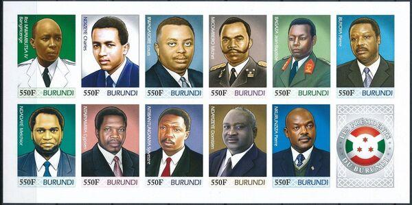 Burundi 2012 Presidents of Burundi q