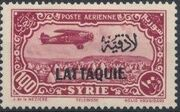 Latakia 1931 Air Post Stamps of Syria 1931 Overprinted j