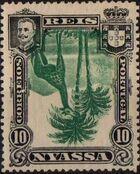 Nyassa Company 1901 D. Carlos I (Giraffe and Camels) p