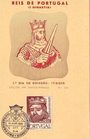 Portugal 1955 Portuguese Kings v