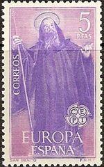 Spain 1965 Europa b