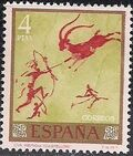 Spain 1967 - Wall Paintings from Paleolithic and Mesolithic Found in Spanish Caves i