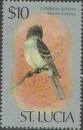 St Lucia 1976 Birds p